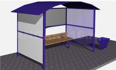 ostp4 - Остановочный павильон